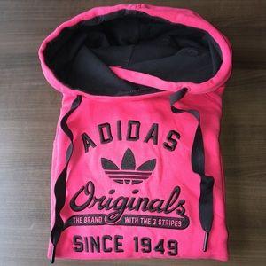 Adidas Originals cowl neck hoodie